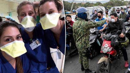 """Belgische studenten verpleegkunde in Filipijnen slaken noodkreet: """"We raken niet thuis en mensen met symptomen blijven hier op straat lopen"""""""