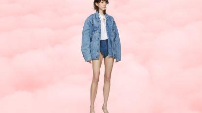 Ultrakorte jeansshort van Belgische ontwerper Glenn Martens is zo goed als uitverkocht