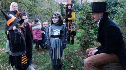 Honderden heksjes en griezels vieren 'Waloween'