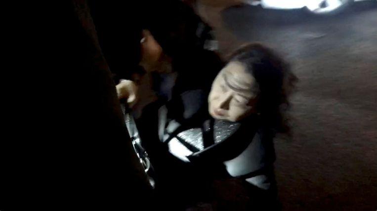 Teresa Cheng kwam gisteren ten val in Londen.
