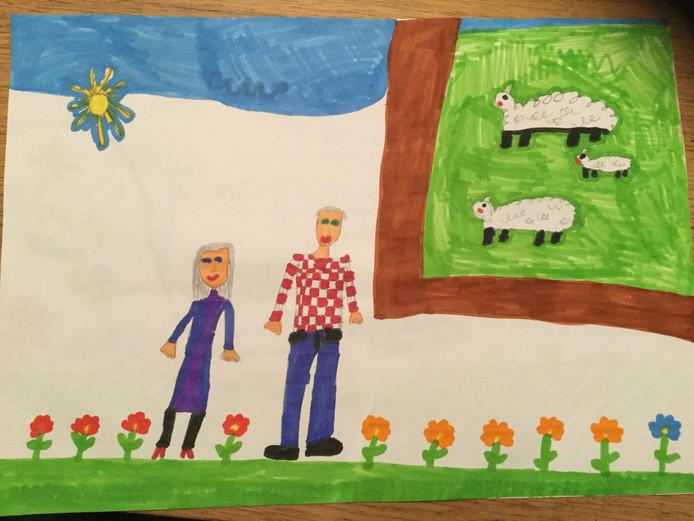'Voor opa en oma van Eef Jenniskens'