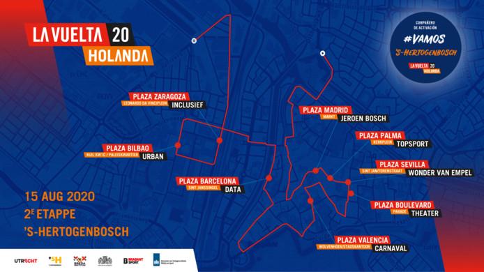 De Vuelta trekt door Den Bosch