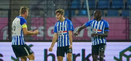 FC Eindhoven en Roda JC zorgen voor spektakel bij eerste duel zonder publiek