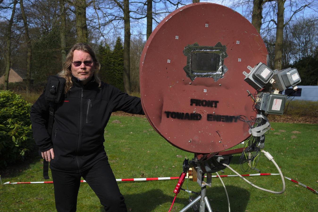 Arjen Kamphuis tijdens een eerdere Open Dag Hack42.