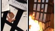 Londenaar voor rechter om filmpje waarin hij kartonnen Grenfell Tower in brand steekt