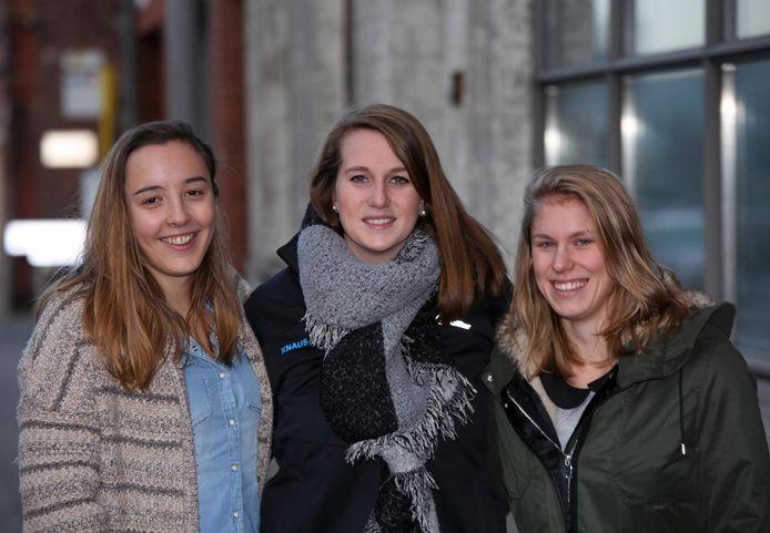 Nele Vervenne, Jolien Verkruysse en Froni Vanoverbeke houden een benefiet voor hun overleden vriendin Olivia.