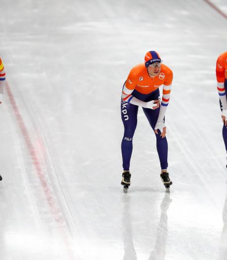 Oranje prolongeert wereldtitel op ploegachtervolging