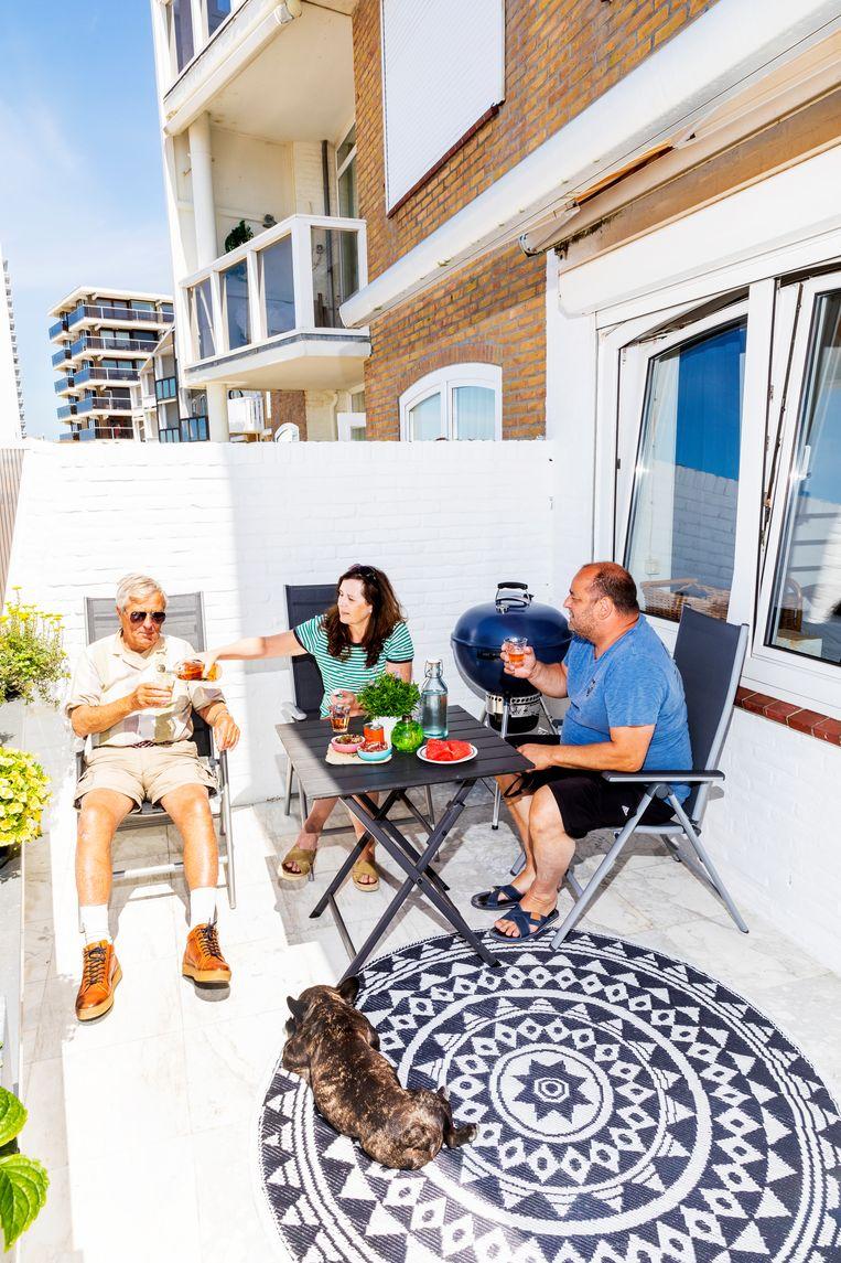 Links Jaap, midden Marina, rechts Pasquale Beeld Marie Wanders