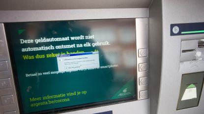 Argenta getroffen door digitale plofkraak: geldautomaten van andere banken blijven beschikbaar
