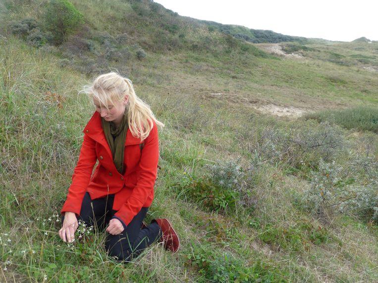 Historisch ecoloog Charlotte Mooij Beeld Monica Wesseling