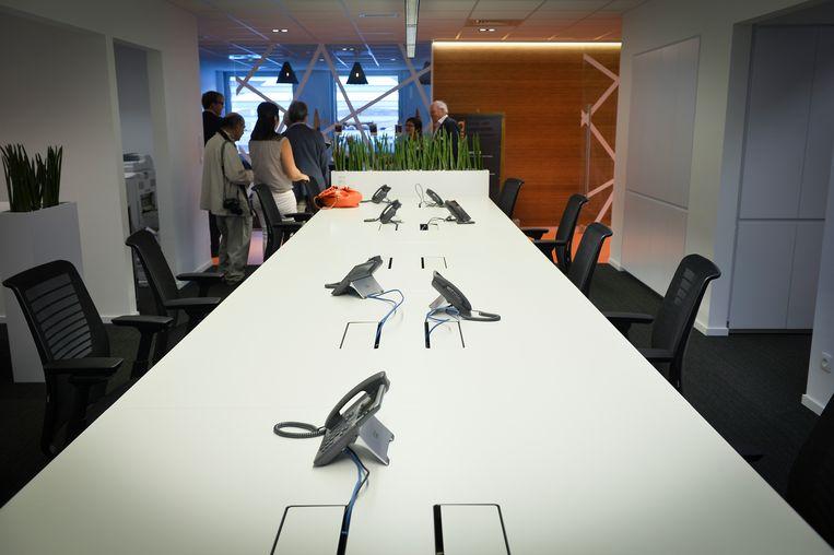 Voka stelt haar kantoren met flexibele werkplekken open voor werkwilligen die hun bedrijf niet binnen zouden kunnen.