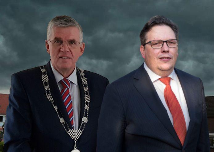 Burgemeester Andre Baars en wethouder Leo van der Velden