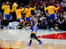 Warriors verslaat Trail Blazers in play-offs