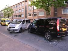 Meerdere gewonden bij botsing tussen bedrijfsbussen op Troelstrakade