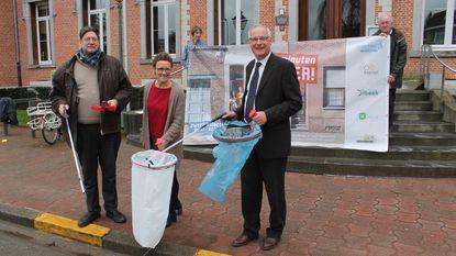 Vier gemeenten lanceren samen zwerfvuilactie
