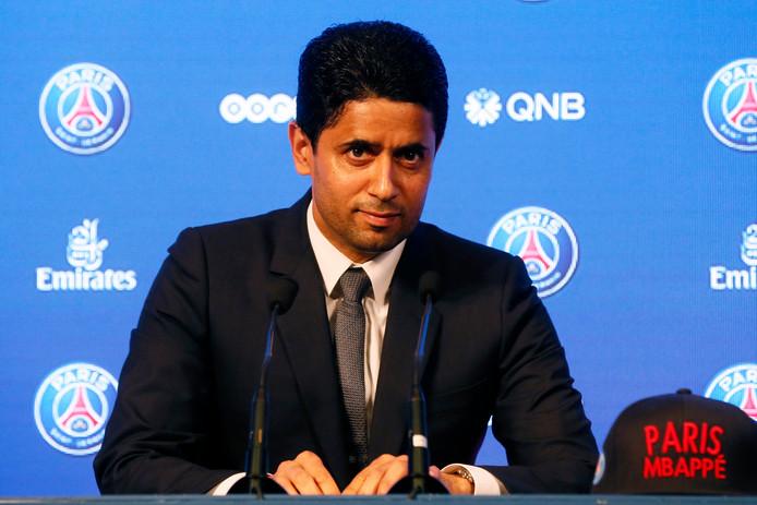 PSG-eigenaar Nasser Al-Khelaifi.