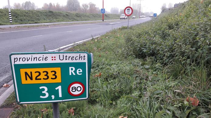 De Rondweg-Oost van Veenendaal zou van twee rijstroken naar vier rijstroken moeten gaan volgens de provincie.