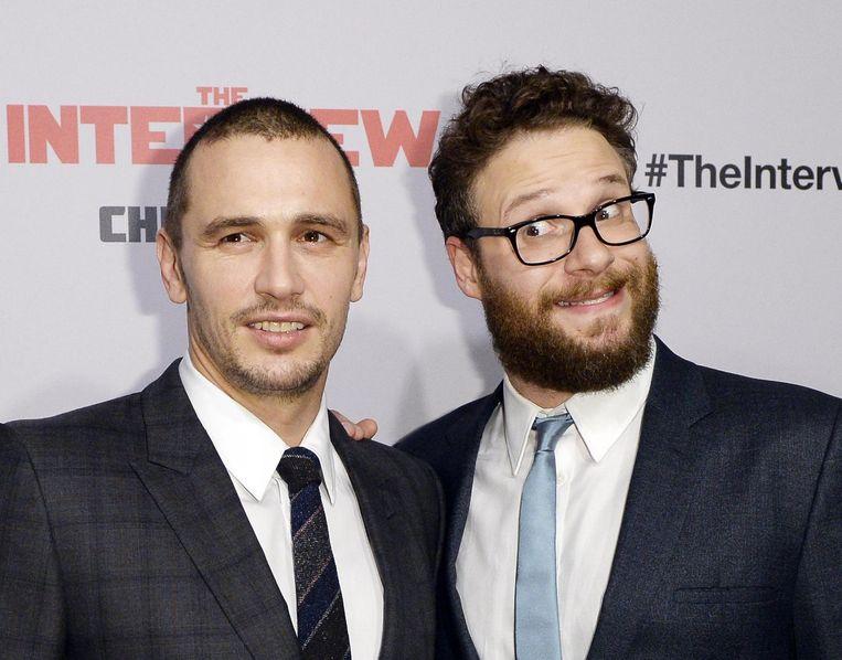 James Franco (L) en Seth Rogen. Beeld reuters