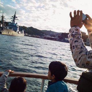 Toeristisch uitstapje: koekeloeren naar de 'ongrondwettelijke' Japanse marinevloot