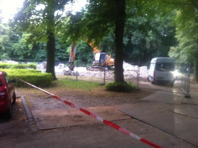 De resten werden gevonden tijdens sloopwerkzaamheden.