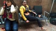 Stewardess van iconische foto aanslag 22 maart dreigt job te verliezen