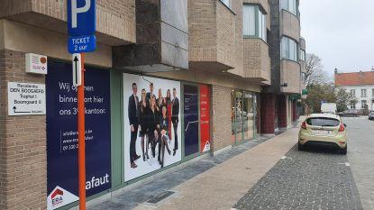 Leeg winkelpand in centrum Aalter ingevuld… door nog maar eens een immo-kantoor