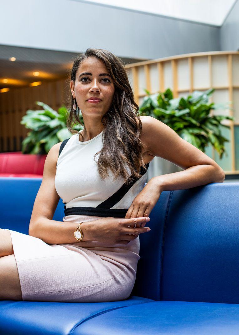 Ashley Battle: 'Ze doen alsof ik de Belastingdienst ben.' Beeld Lin Woldendorp