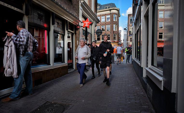 De Wallen in Amsterdam, eerder deze week. Beeld
