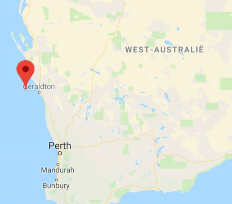Beacon Island, onderdeel van een rij van 122 eilanden, die ook de Houtman Abrolhos worden genoemd.  Beeld