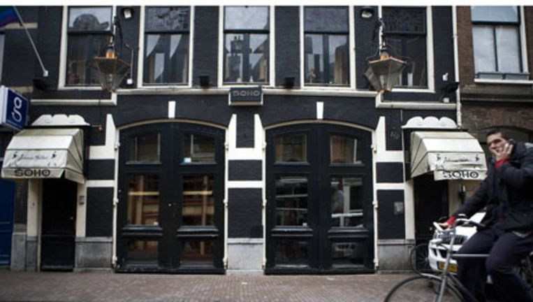 Soho in de Reguliersdwarsstraat. Foto Jan van Breda Beeld