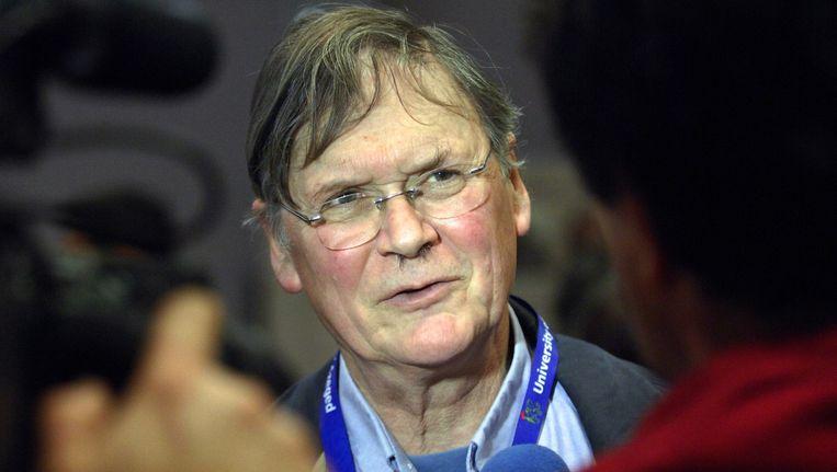 Biochemicus en Nobelprijswinnaar Tim Hunt Beeld afp