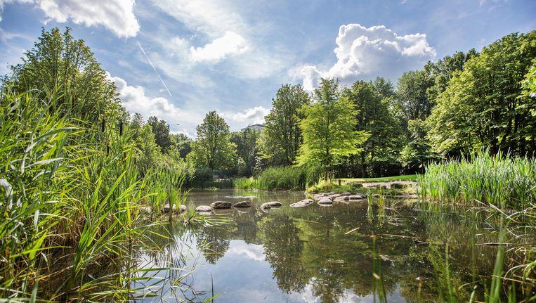 Het Gijsbrecht van Aemstelpark. Beeld Eva Plevier