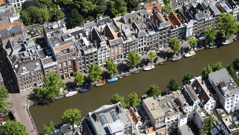 De stijging van de huren van woningen in de vrije sector in Amsterdam was het afgelopen jaar relatief gering.  Beeld ANP