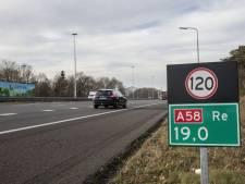 Van Eindhoven naar Tilburg en vice versa? Komende weken 's avonds niet over A58