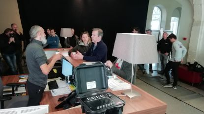 Onthaalcentrum voor bedevaarders De Pelgrim is het decor voor nieuwe thrillerserie op Eén