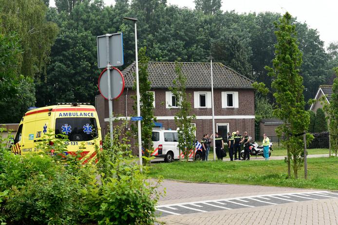 De hulpdiensten waren uitgerukt na de melding van de vechtpartij in Etten-Leur.