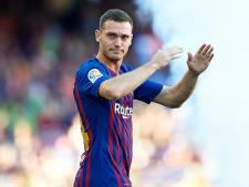 Vermaelen blessé et absent du groupe de Barcelone pour affronter Manchester