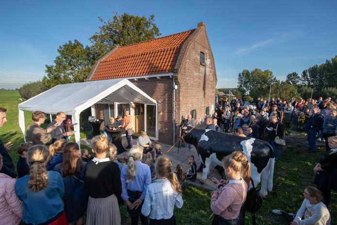 Stichting De Bolleschuur opende tijdens de Biestemarkt in Grafhorst De Bolleschuur in zijn nieuwe vorm.