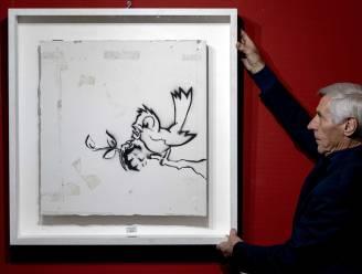 Kunstwerk Banksy brengt 170.000 euro op in Nederland