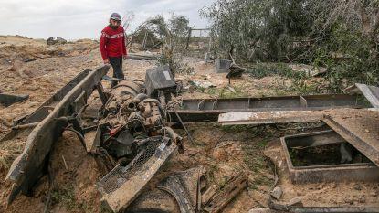Israël valt opnieuw Hamas-doelwitten aan na raketbeschietingen