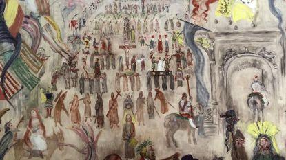 Eindelijk toestemming van Vaticaan Museum:  reproductie James Ensors Boetprocessie binnenkort in oud stadhuis