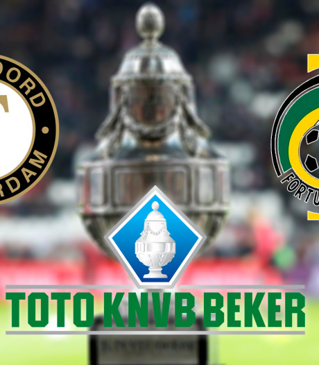 KNVB-beker: Feyenoord - Fortuna