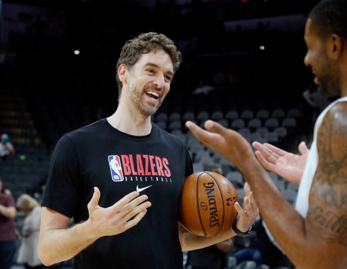 De kans is klein dat Pau Gasol (39) nog terugkeert als speler in de NBA.