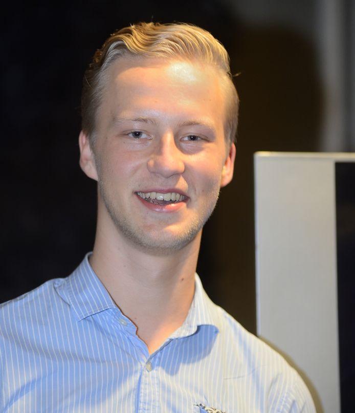 Thijs van Zutphen van Lijst Blanco in Meierijstad.