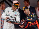 Hamilton ziet toekomst Ricciardo bij Red Bull