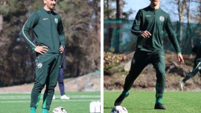 Zlatan Ibrahimovic traint bij opvallende Zweedse club en zwengelt geruchtenmolen zo weer helemaal aan
