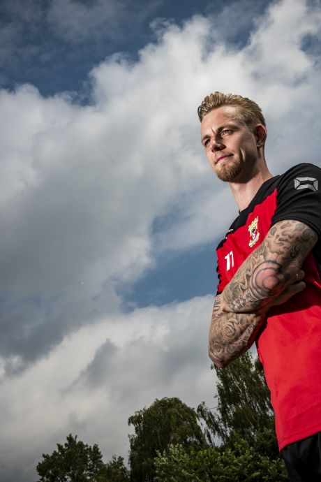 Lijdensweg Van Kippersluis nadert einde bij GA Eagles: 'Ik heb mezelf uit de put gehesen'