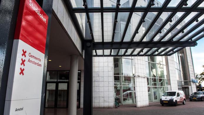 Het stadhuis van de gemeente Amsterdam in de Stopera.