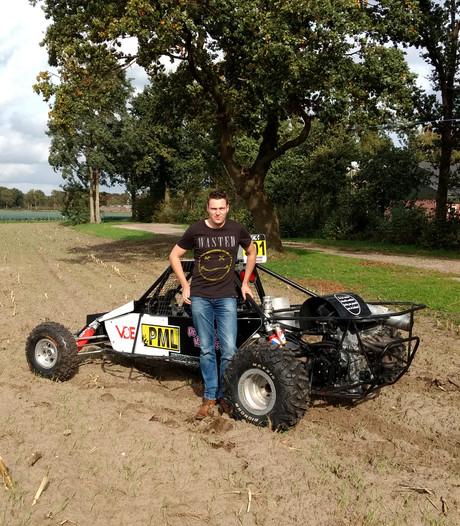 Autocrosser Rens van der Haas uit Deurne: ik kan helemaal niet tegen mijn verlies