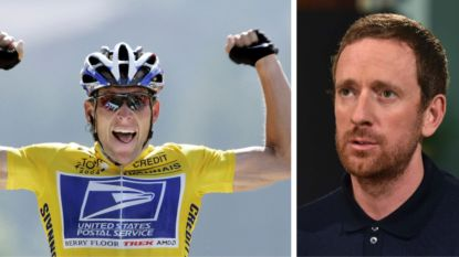 """Wiggins noemt Armstrong """"dé perfecte Tourwinnaar"""", Engelse media en UCI-baas op achterste poten"""